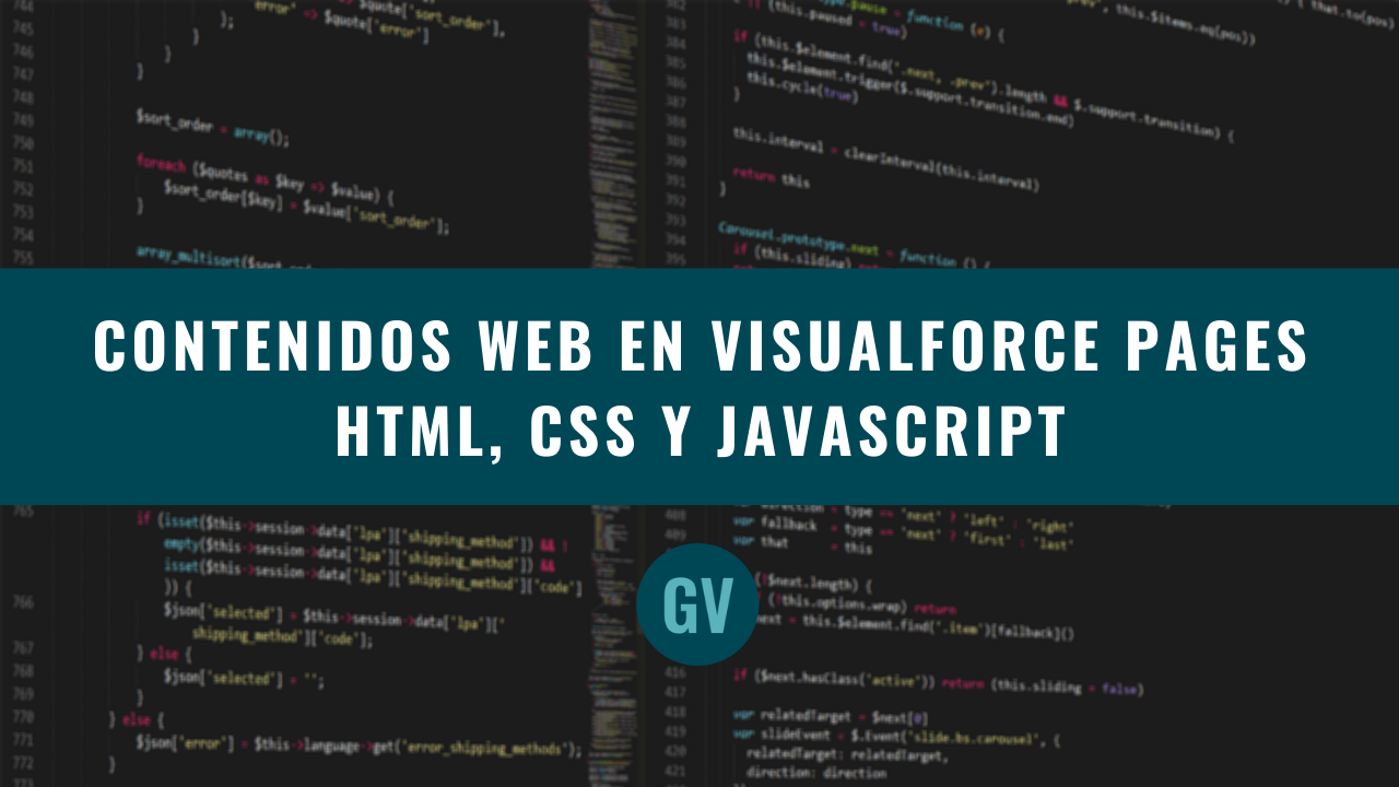 Contenidos Web en Visualforce Pages